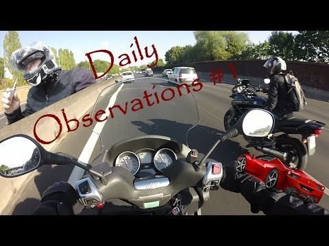 Daily Observations # 1 (EN Subs available) Piaggio MP3 LT 400