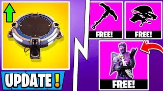 *NEW* Fortnite Update! | 7.31 All Changes, Free Valentine Items, Jump Pad Buff!