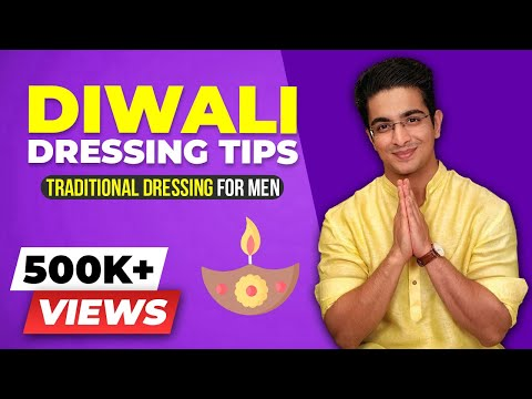 INDIAN Traditional Dressing for Men - Diwali Special Men's Fashion | BeerBiceps Style