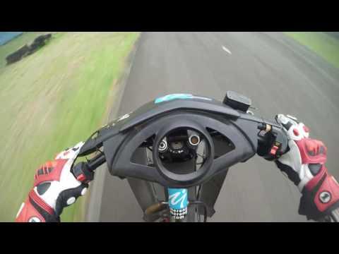 Sentul Karting - Practice underbone Karisma 125d