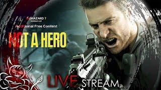 Resident Evil 7 - Не Герой + Гибель Зои [Стрим]