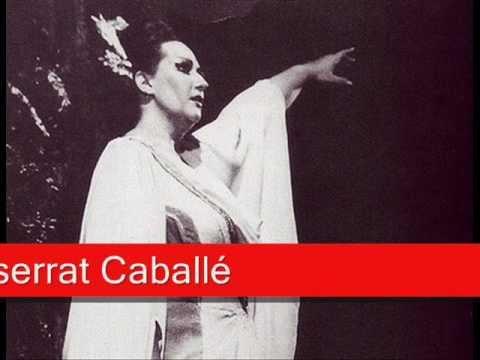 Montserrat caball bellini norma 39 casta diva ah bello a me ritorna 39 youtube - Norma casta diva bellini ...