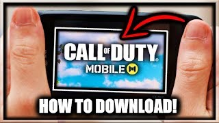 Gambar cover How to Download Call of Duty Mobile On Android (Easy NEW Method) How to Play COD Mobile APK Download