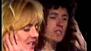 QUEEN / Freddie Mercury rare pre LIVE AID interview