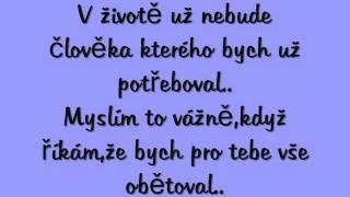 Stylman-Chytím tě za ruku (text)