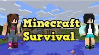 Minecraft Survival - COMEÇANDO COM SORTE (NOVA SÉRIE) #01