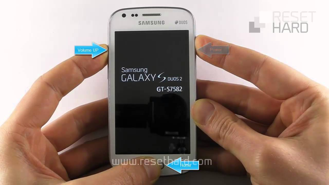 how to reset samsung duos phone password