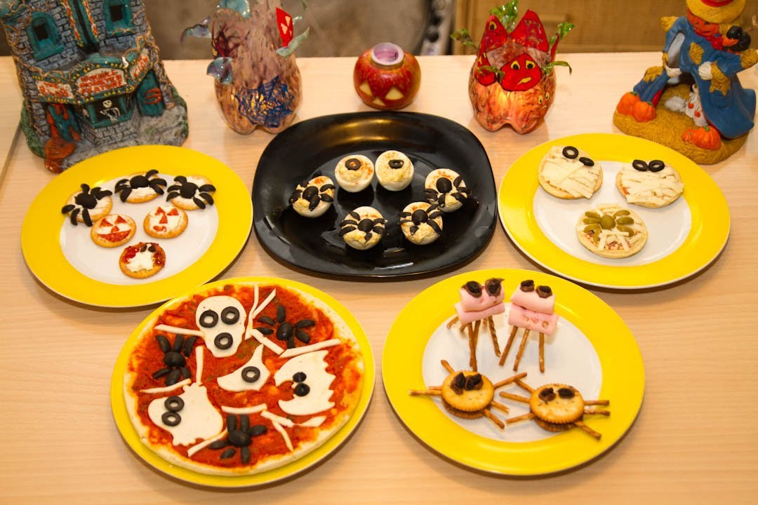 Ideas Para Cenar Rapido Y Facil Recetas Halloween Para Fiesta Y Party Dulce Y Salado - Youtube