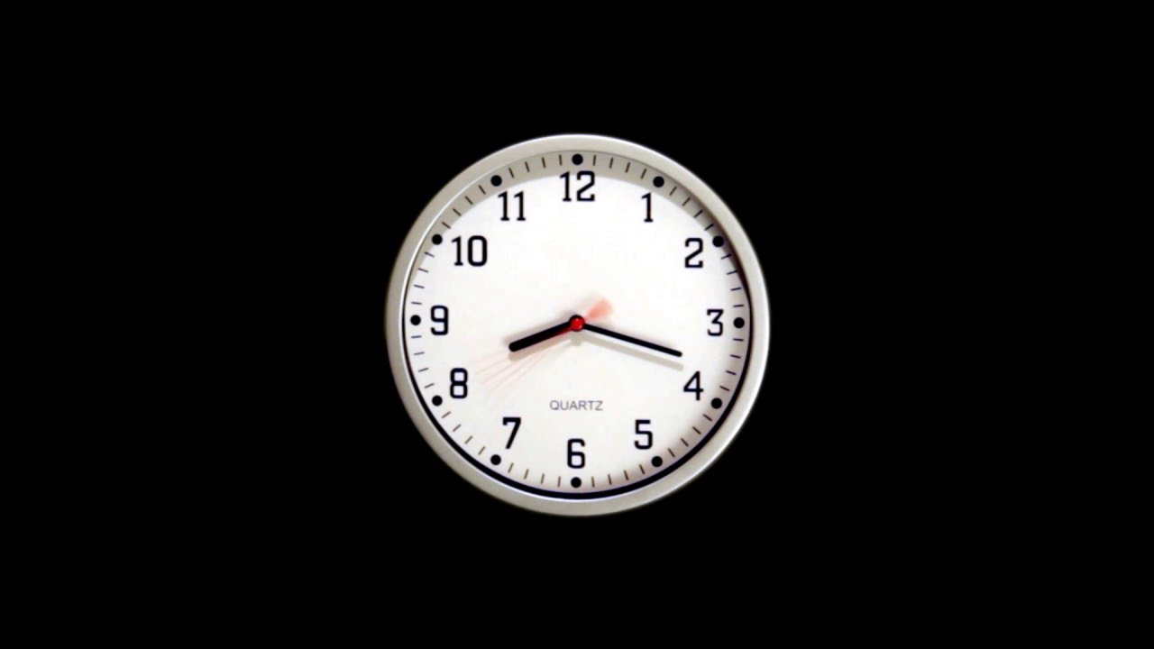 Time-lapse Clock Free Stock Footage