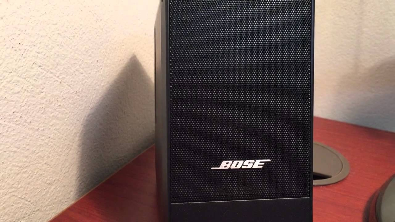 bose computer musicmonitor bose m2 sound test youtube. Black Bedroom Furniture Sets. Home Design Ideas