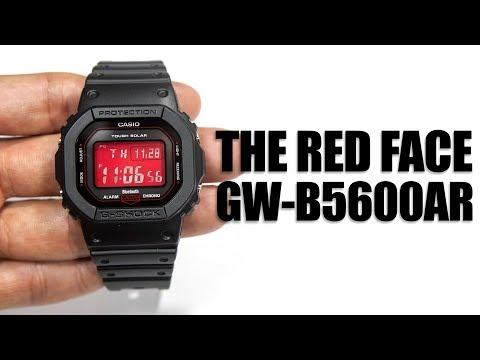NEW MODEL ! CASIO G-SHOCK GW-B5600AR-1DR REVIEW
