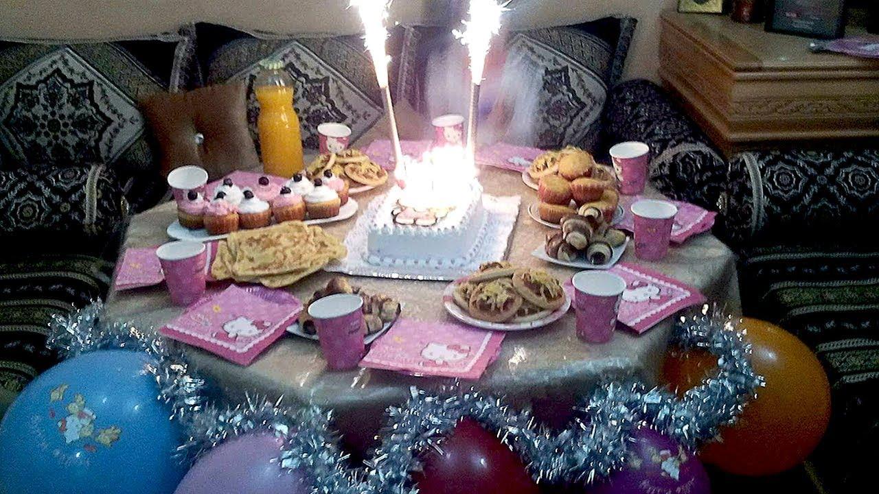 بوفيه عيد ميلاد بنوتي كله