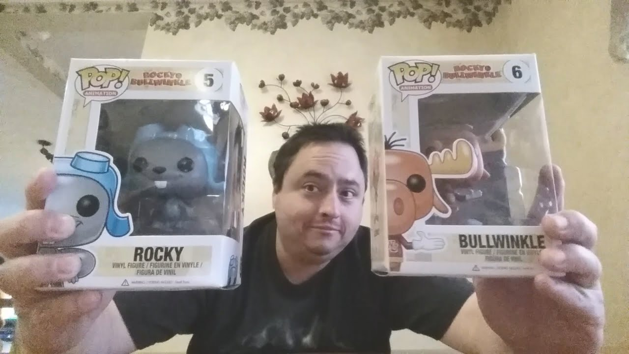Funko Pop Rocky And Bullwinkle Unboxing Youtube
