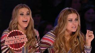 Carmen Electra's BEST BITS On Britain's Got Talent   Amazing Auditions