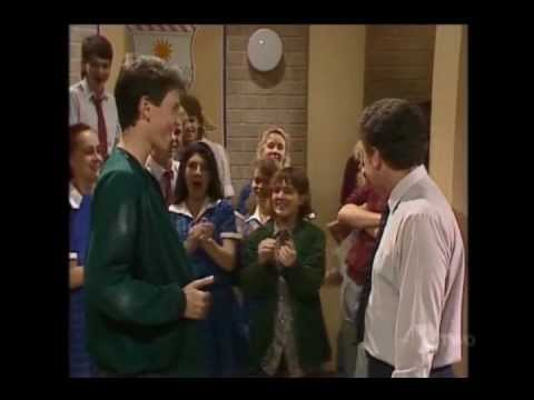 Home and Away: Alan Fisher turns up at school (1988)