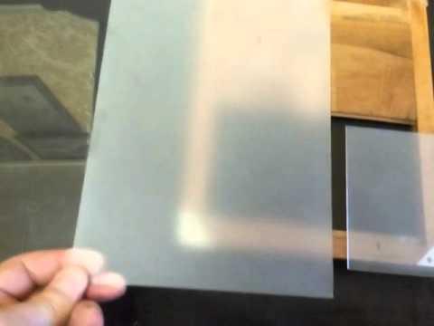 Как своими руками сделать стекло матовым