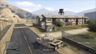 How To Enter Military Base in GTA 5 Online With No Stars - Glitch Tutorial Xbox 360 & PS3