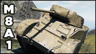 M8A1 - 1 vs 8 Gameplay - 13 Kills - Best Replays World of Tanks