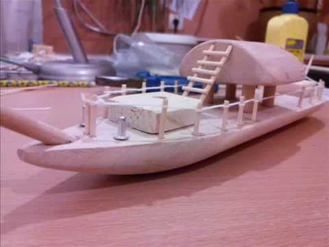 видео: how to make a ship out of wood / Парусник из дерева своими руками