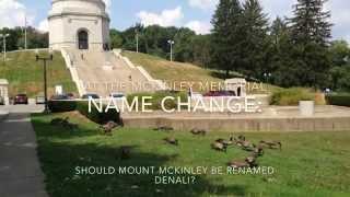 Sounding off on renaming Mount McKinley