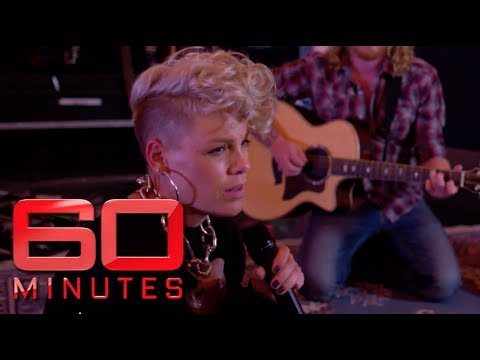 60 Minutes Australia | P!nk's exclusive 'Barbies' performance