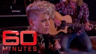 60 Minutes Australia | P!nk's exclusive 'Barbies' performance