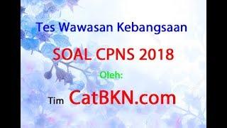 Contoh Soal TWK CPNS 2018 dan Jawabannya PDF
