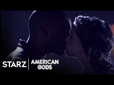 American Gods   Season 1, Episode 3 Clip: Rooftop Fortune   STARZ