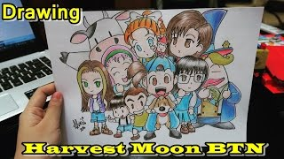 Drawing Harvest Moon Back To Nature