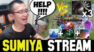 SUMIYA Insane Blast Icewall Plays ft vs Blademail Team | Sumiya Invoker Stream Moment #333