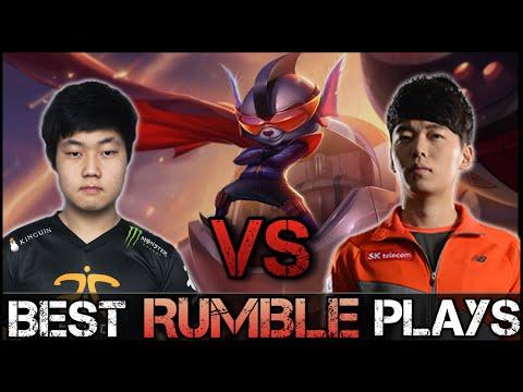 Rumble Montage [Battle]: Huni vs MaRin