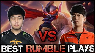 Rumble Montage [Battle]: Huni vs MaRin
