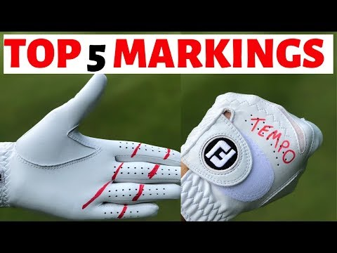 TOP 5  WORDS TO PUT ON YOUR GOLF GLOVE - GOLFMATES