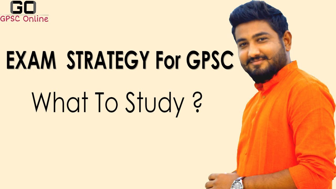 EXAM STRATEGY | BOOKS FOR GPSC | BY GPSC ONLINE