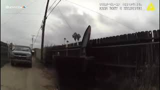 Tempe Police body cam video of shooting