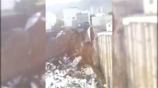 Así se ven las casas tras derrumbe en Monterrey