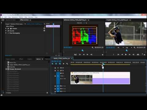 Premiere Pro: Slow Motion Speed Ramping