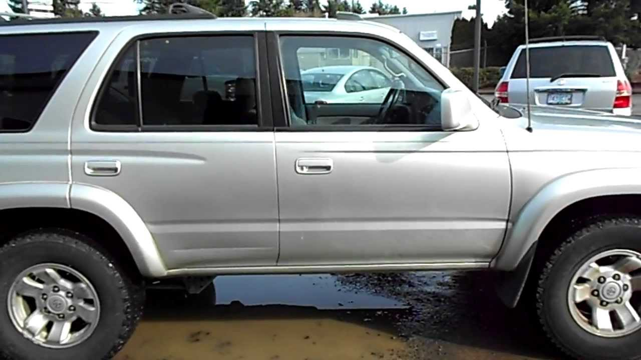 Perfect 2000 Toyota 4Runner SR5 4X4   YouTube