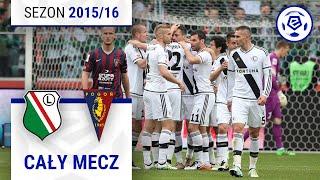 Legia Warszawa - Pogoń Szczecin [1. połowa] sezon 201516 kolejka 37