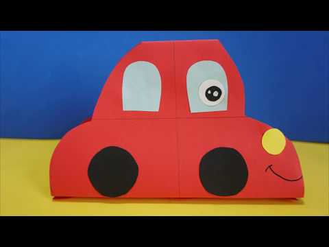 DIY Car  Paper Craft For Kids  | DIY Car | How to make an car paper for kids