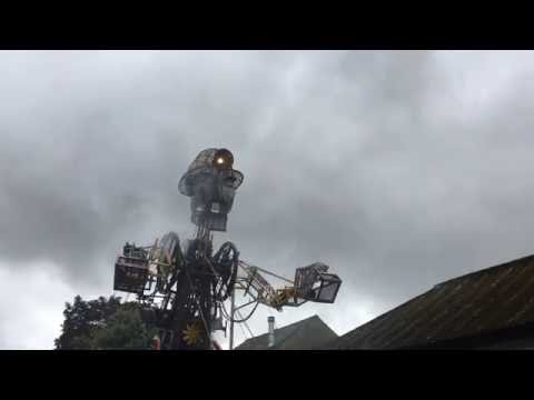The Man Engine Part 4 Singing Cornish Miners. 10.2 metres tall