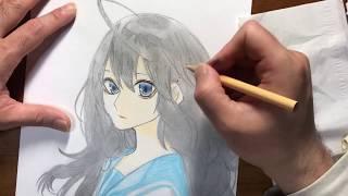 アクタージュ act-age 夜凪景 描いてみた drawing