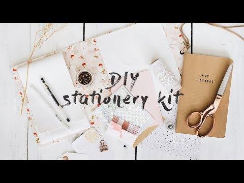 diy stationery kit (ft. Christine MyLinh)