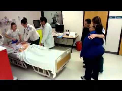 how to carry out cardiopulmonary resuscitation
