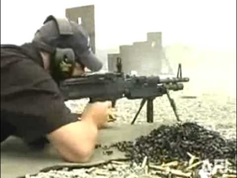 The New M-60 E4 Machine Gun
