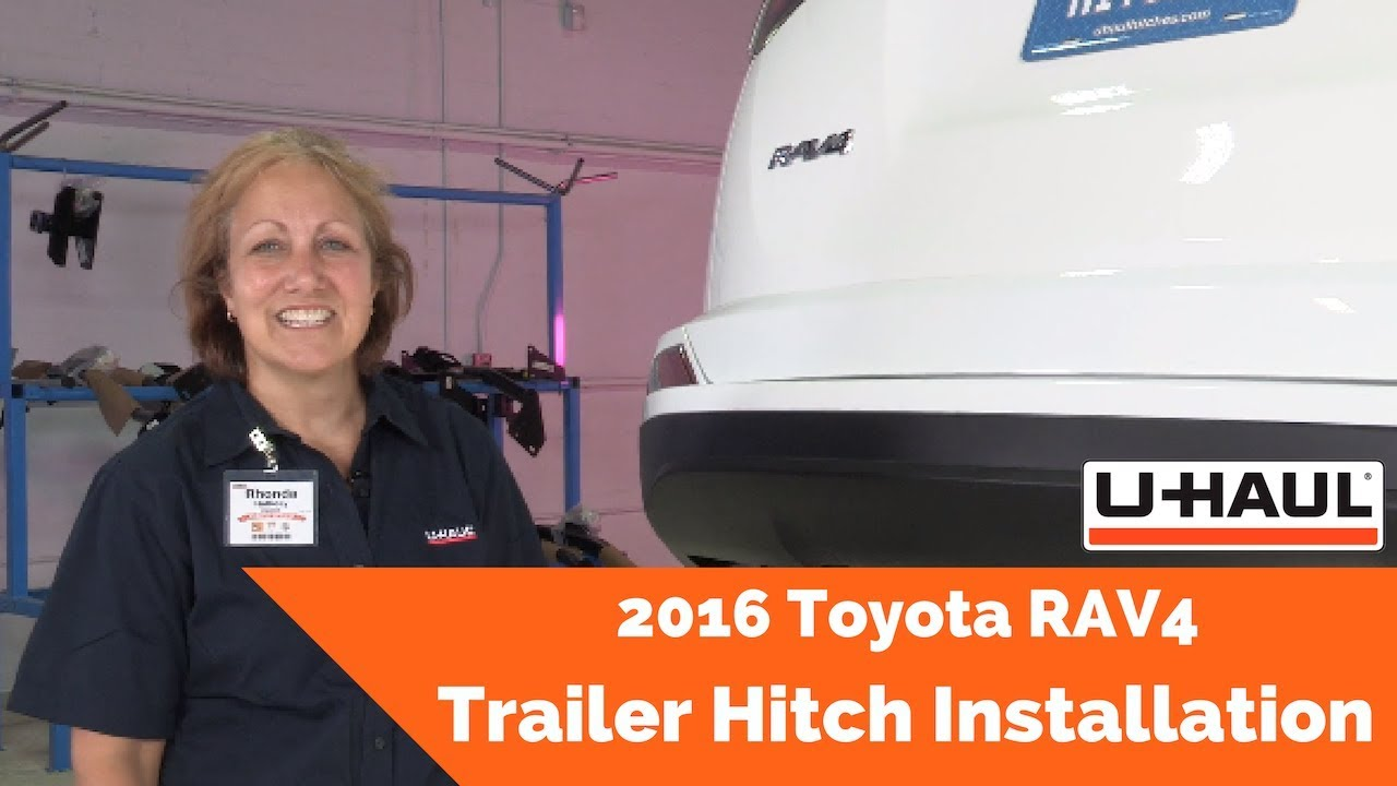 2016 Toyota Rav4 Trailer Hitch Installation