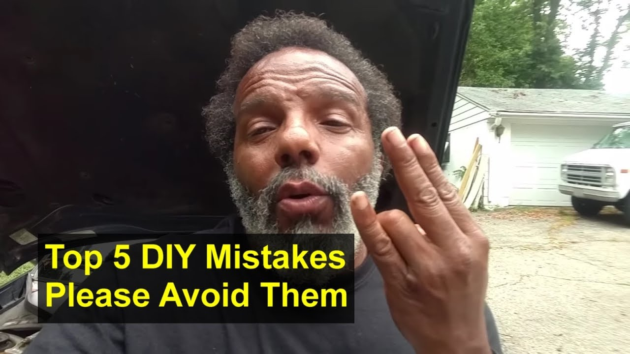 Top 5 mistakes to avoid when you diy do it yourself very common top 5 mistakes to avoid when you diy do it yourself very common mistakes remix solutioingenieria Image collections