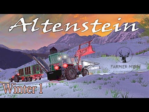 Altenstein | Farming Simulator 17 PS4 | Winter 1