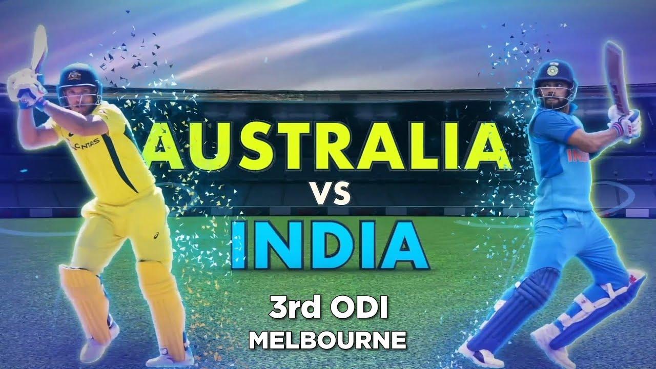 Australia Vs India 3rd Odi Preview