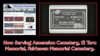 Headstones and Memorials in Los Angeles Ca: American Headstone Company